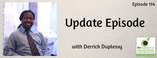 Update Episode Derrick Duplessy