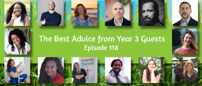 The Best Advice from Year Three Guests